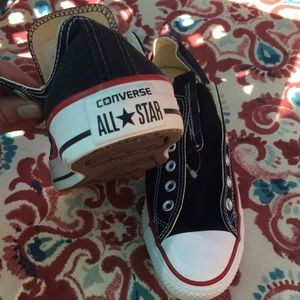 Converse Shoes - Men's NWT converse all star no laces